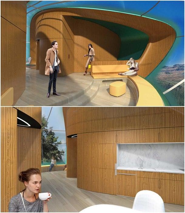 interior pods prefabricados Revolution
