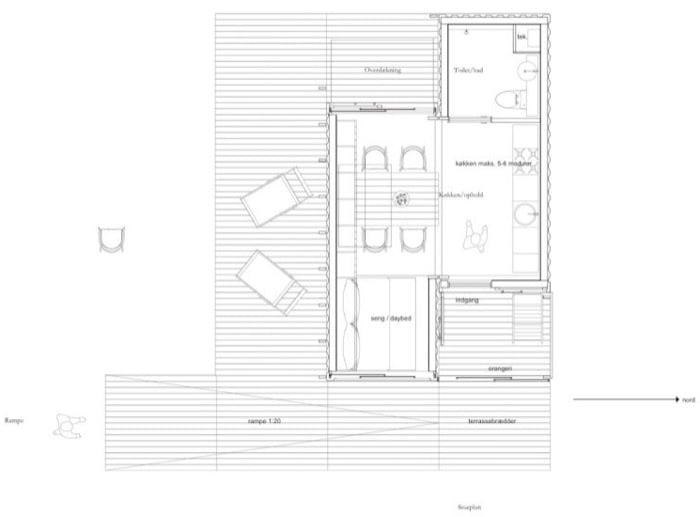 plano planta CPH Shelter