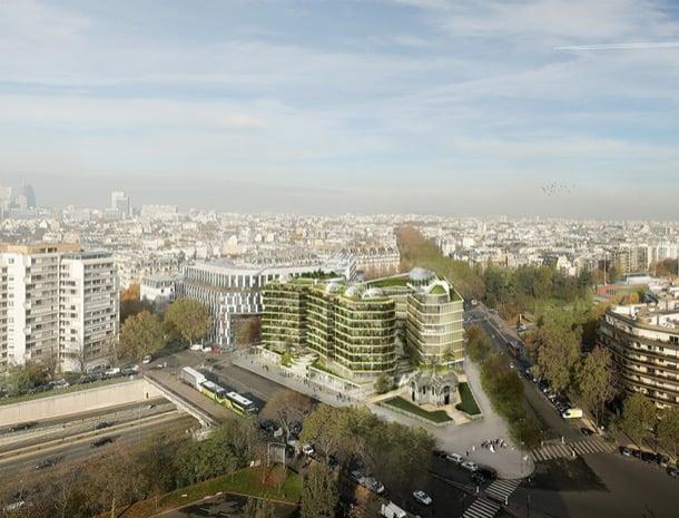 vista aerea viviendas Ternes-Villiers