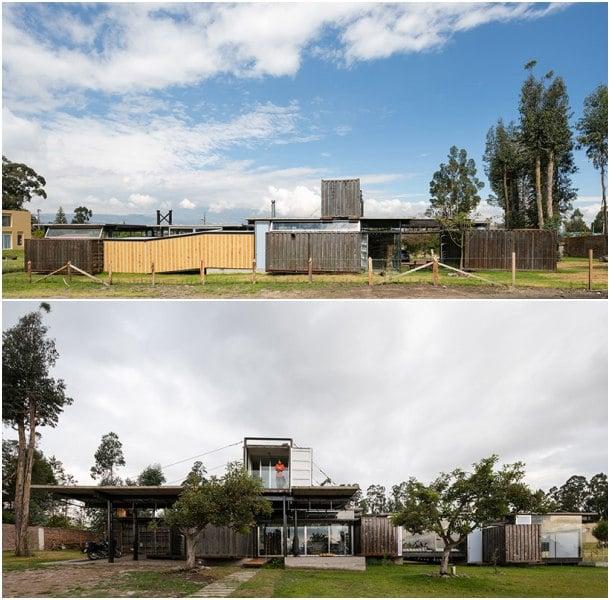 RDP House fachadas