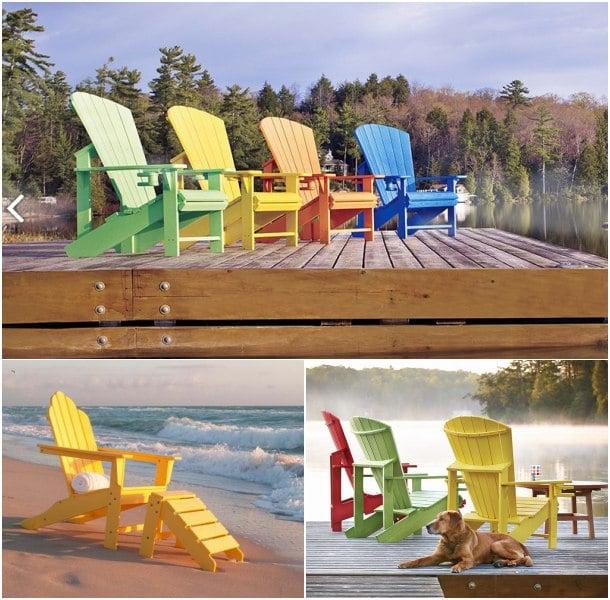 sillas de plástico para exteriores