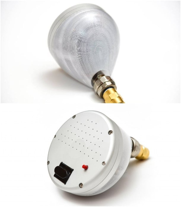 OaSense detalle ducha con sensor
