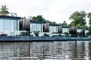 X-Float: habitaciones flotantes y prefabricadas