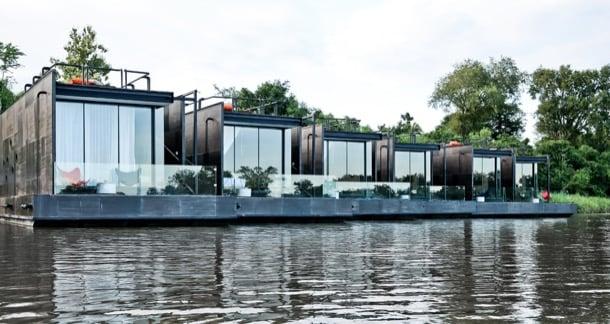 X-Float habitaciones flotantes y prefabricadas