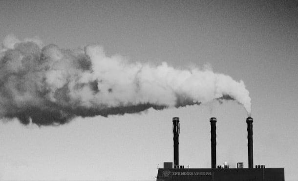 contaminación CO2 aumento temperatura global