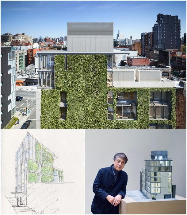 152 Elizabeth Street fachada verde