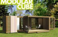 Modular Cube: caseta modular para el jardín