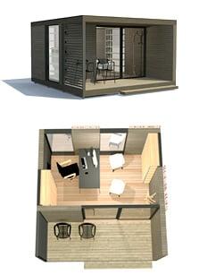 Modular CUBE oficina