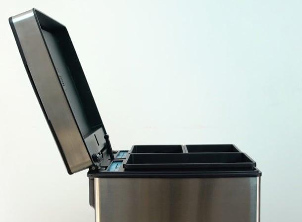QUBE: cubo inteligente para reciclar basura