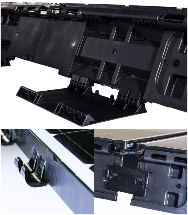 detalles paneles solares Beamreach