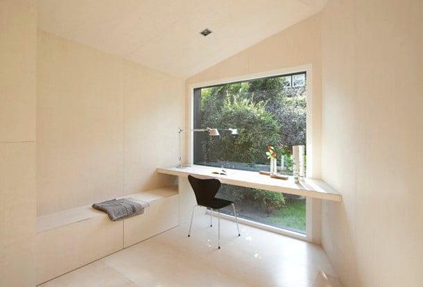 escritorio estudio jardin