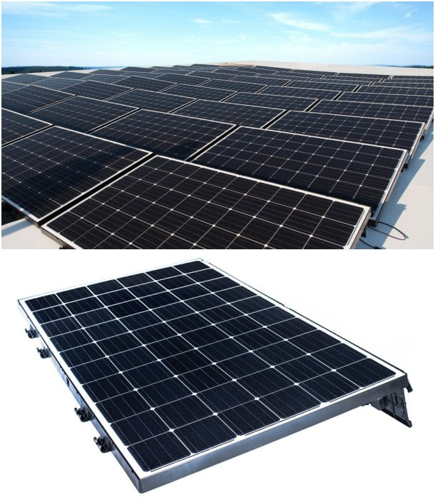 paneles solares ligeros Beamreach Sprint