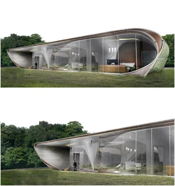 vivienda impresa 3D Curve Appeal