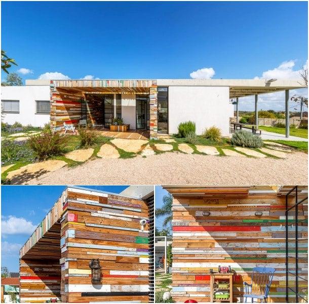 Casa LaHO cuerpo de madera recuperad