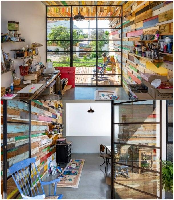 Casa LaHO interior estudio