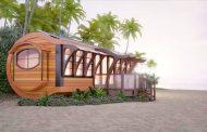 Arc House: singular vivienda prefabricada de energía cero