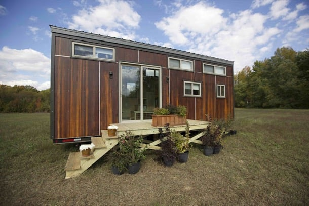 Z Huis: pequeña casa móvil con dos altillos