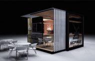 Cafetería-contenedor para una franquicia de Johannesburgo