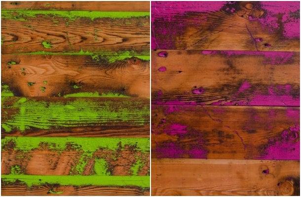 paneles de madera recuperada Viridian Wood