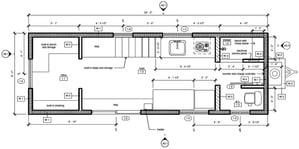 plano planta Z Huis