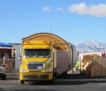 transporte casa prefabricada Casa del Arco