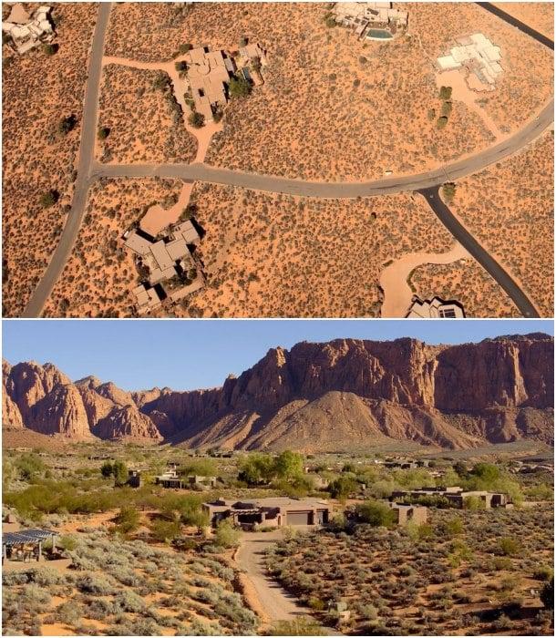 urbanización Kayenta Utah