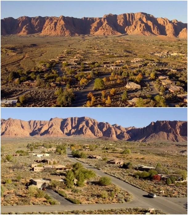 vista parcial Kayenta