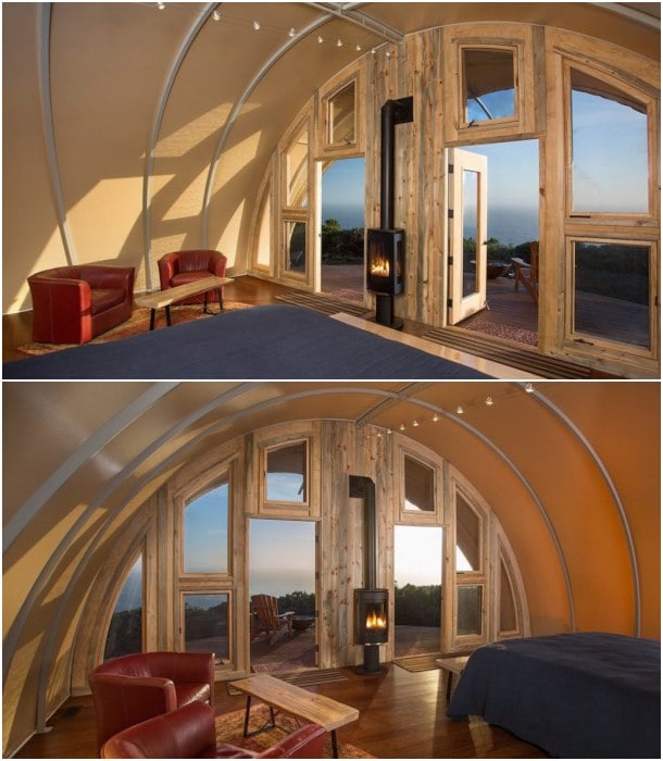 Autonomous Tent-Cocoon-interior