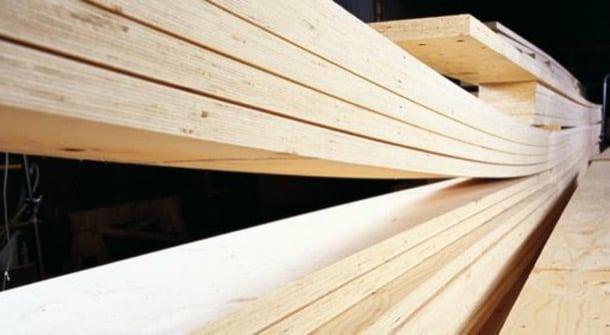 KERTO LVL madera laminada estructural