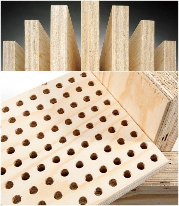 KERTO LVL madera laminada sostenible