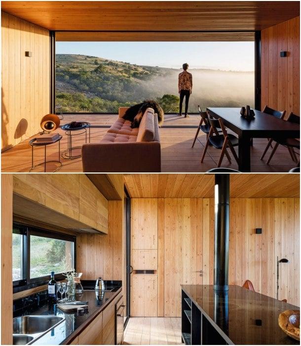 construcción prefabricada interior