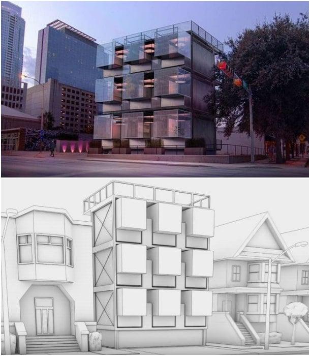 estructuras para viviendas KASITA