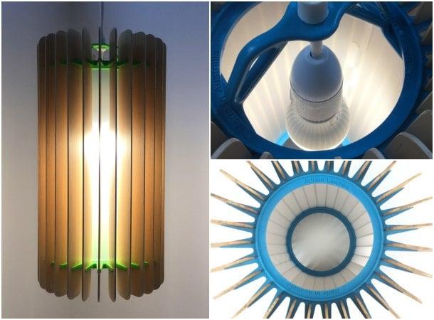 lámpara AVALON detalles