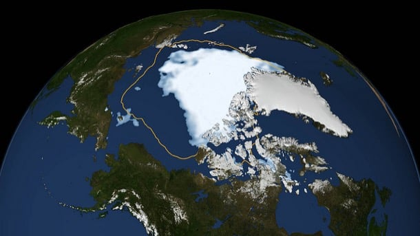 masa hielo Ártico