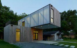 Cantilever House: casa modular prefabricada por 136.000$