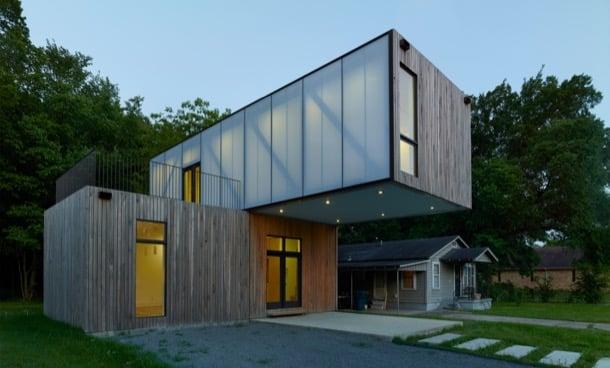 cantilever-house casa modular prefabricada