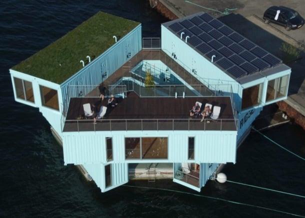 Urban Rigger edificio con contenedores Copenhague