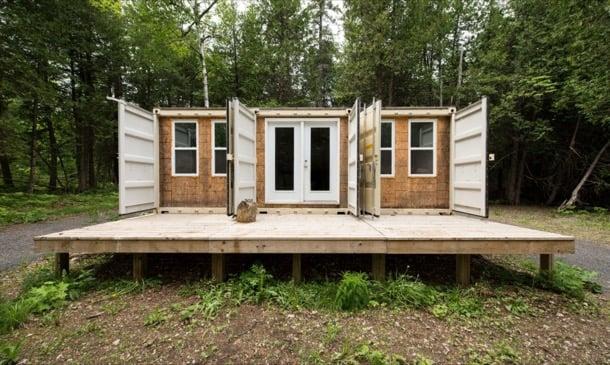 vivienda contenedor Joseph Dupuis Ottawa