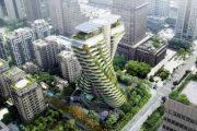 Agora Garden: torre ecológica de Vincent Callebaut