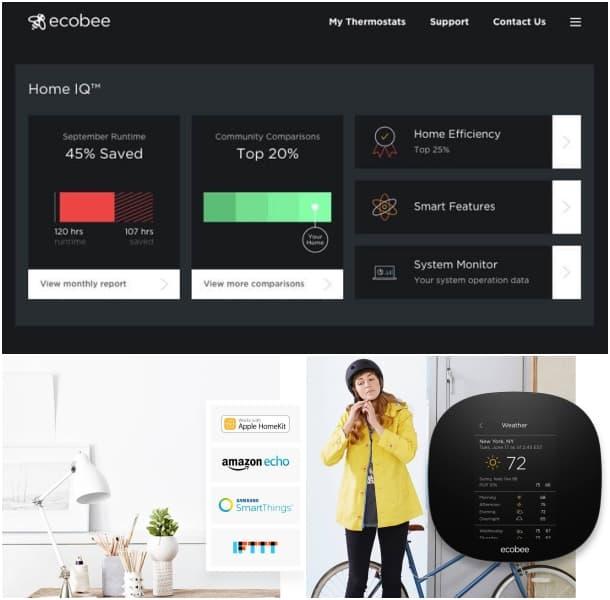 ecobee3_lite termostato inalámbrico