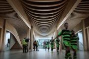 Estadio de fútbol ecológico, por Zaha Hadid Architects