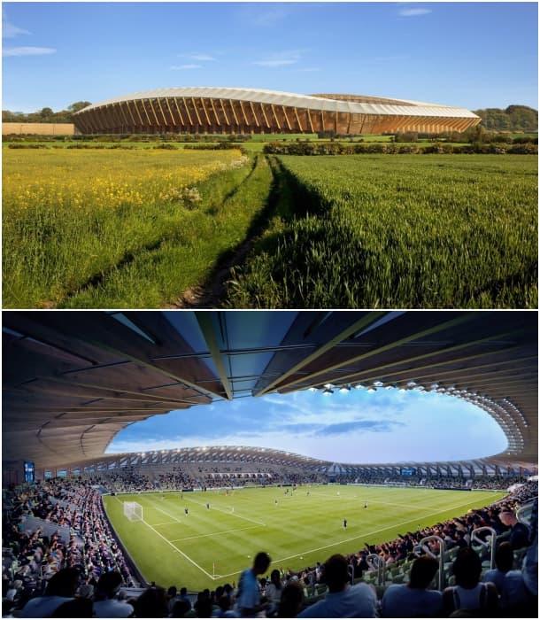 campo de fútbol ecológico zaha-hadid-architects