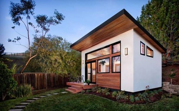 Britespace: casa prefabricada con sistema en kit AVAVA