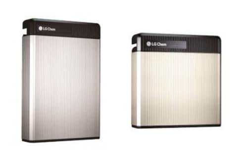 batería para instalaciones solares, de LG