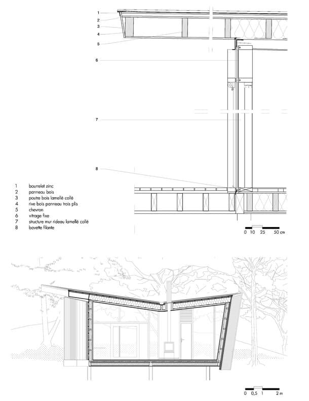 les-echasses-seccion-bungalow-detalle-constructivo