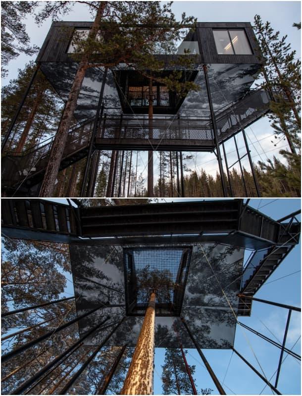 cabaña-árbol-treehotel