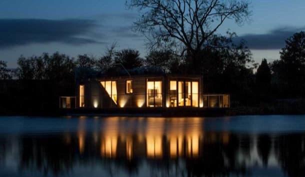 casa flotante prefabricada bluefield-houseboats