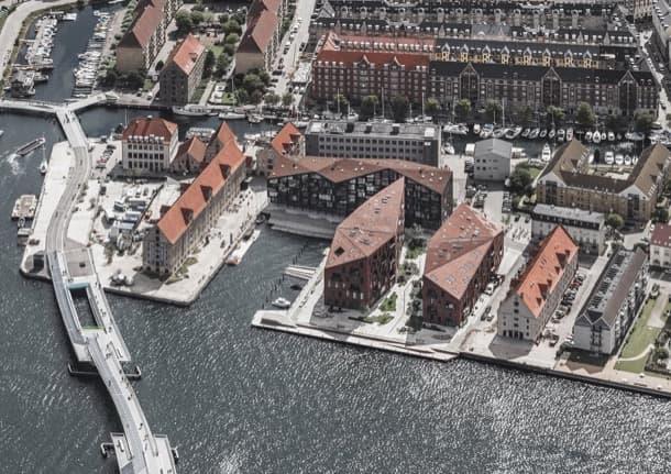 desarrollo residencial sostenible Krøyers Plads Dinamarca