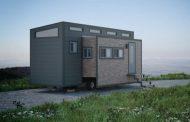 AURORA: casita expandible sobre un remolque