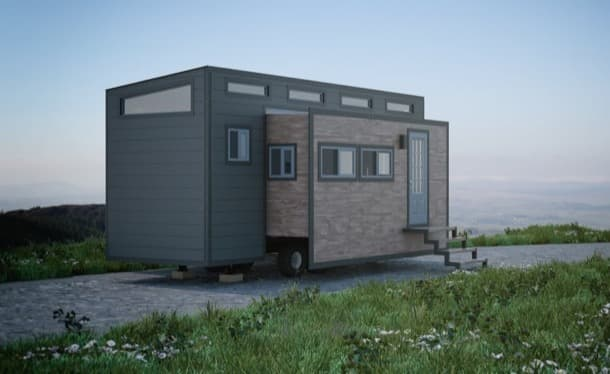 Aurora casita expandible prefabricada